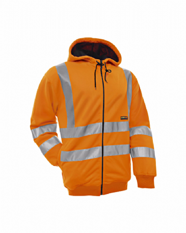 Blaklader 3346 Hooded Sweater High Visibility (Orange)